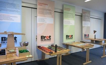 Ausstellung Ökologischer Fußabdruck