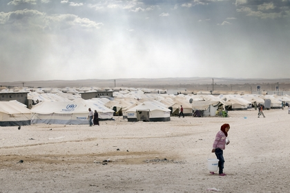 Flüchtlingslager in Jordanien  Foto: Christoph Püschner, Brot für die Welt