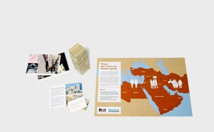 Broschürenbildausschnitt der Ausstellung