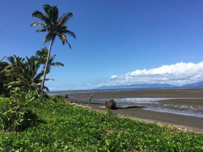 Dorf Vunidogoloa in Fidschi
